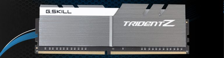 G.Skill TridentZ DDR4 (Quad-Channel) Slider