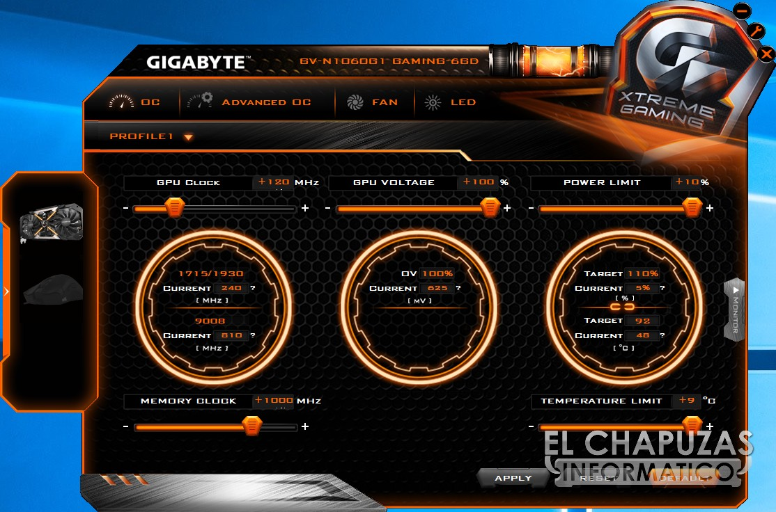 Review Gigabyte Geforce Gtx 1060 G1 Gaming