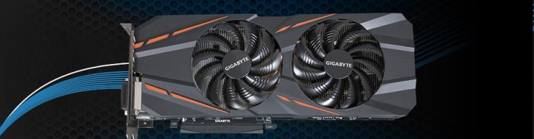 Gigabyte GeForce GTX 1060 G1 Gaming Slider