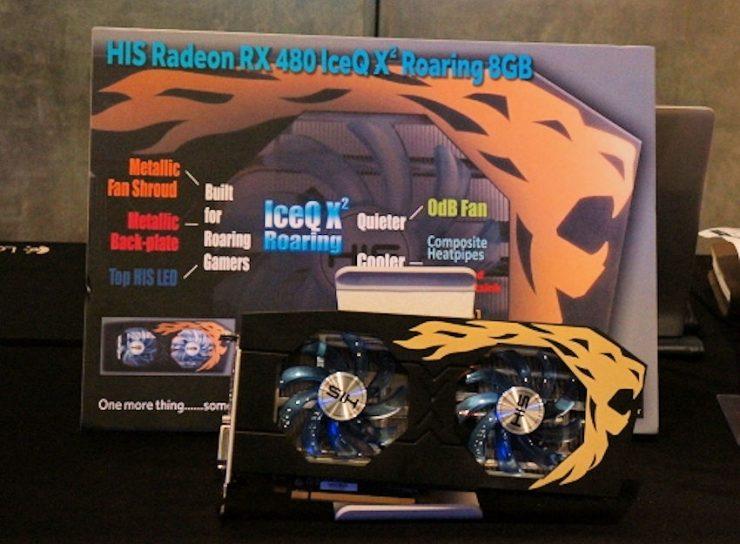 HIS Radeon RX 480 IceQ X2 Roaring