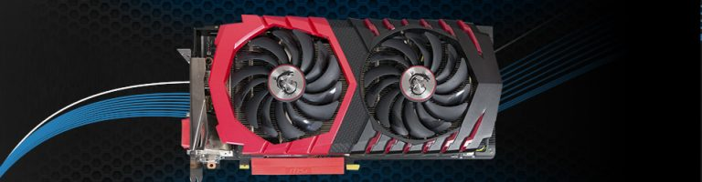 MSI GeForce GTX 1080 Gaming X Slider