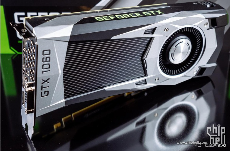GeForce GTX 1060 nuevamente filtrada en imágenes