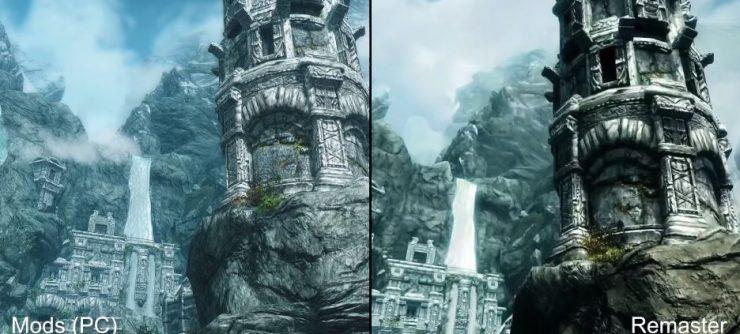 Skyrim Mods vs Skyrim Special Edition