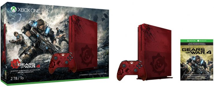 Xbox One S Gear of War 4 Limited Edition (1)