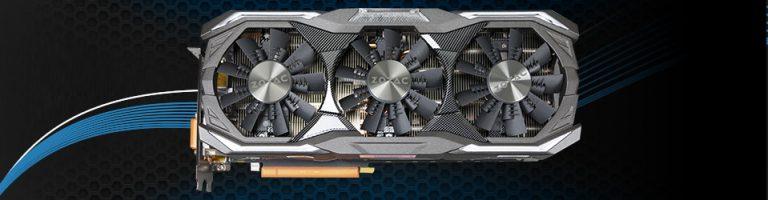 Zotac GeForce GTX 1070 AMP Extreme Slider