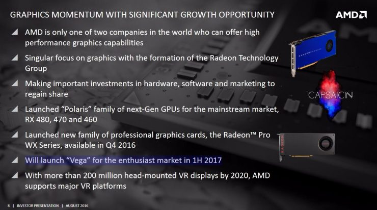 AMD VEGA roadmap 2017
