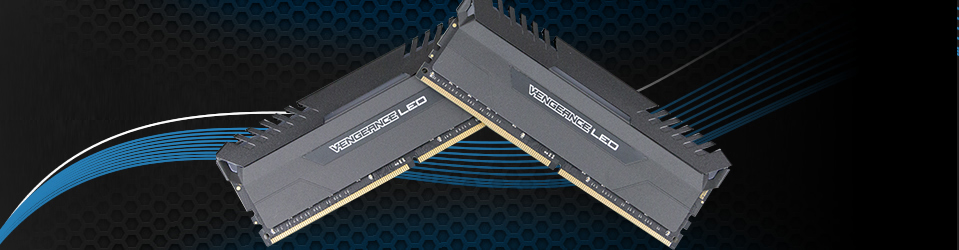 Corsair Vengeance LED DDR4 Slider
