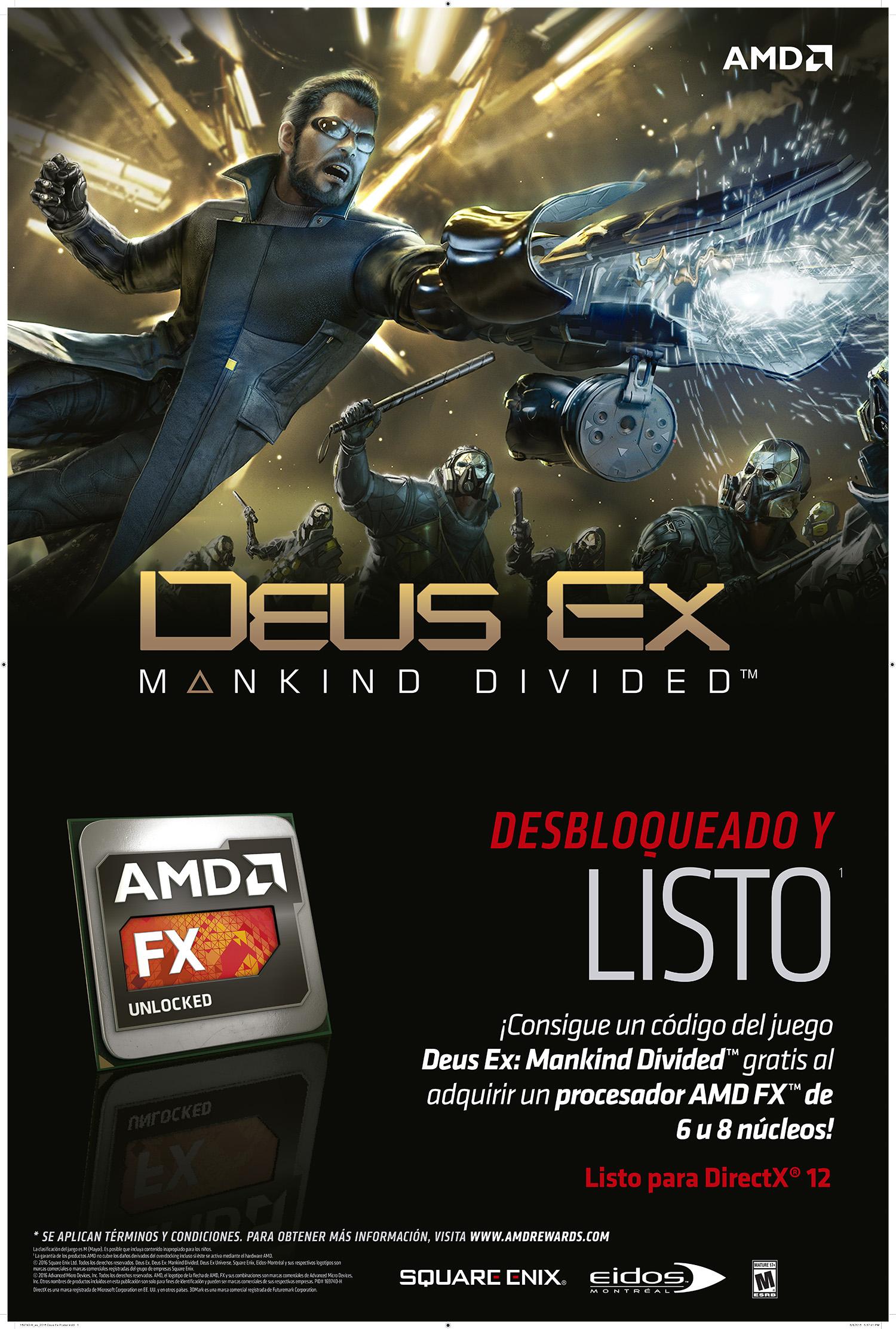 Deus Ex Mankind Divided - AMD