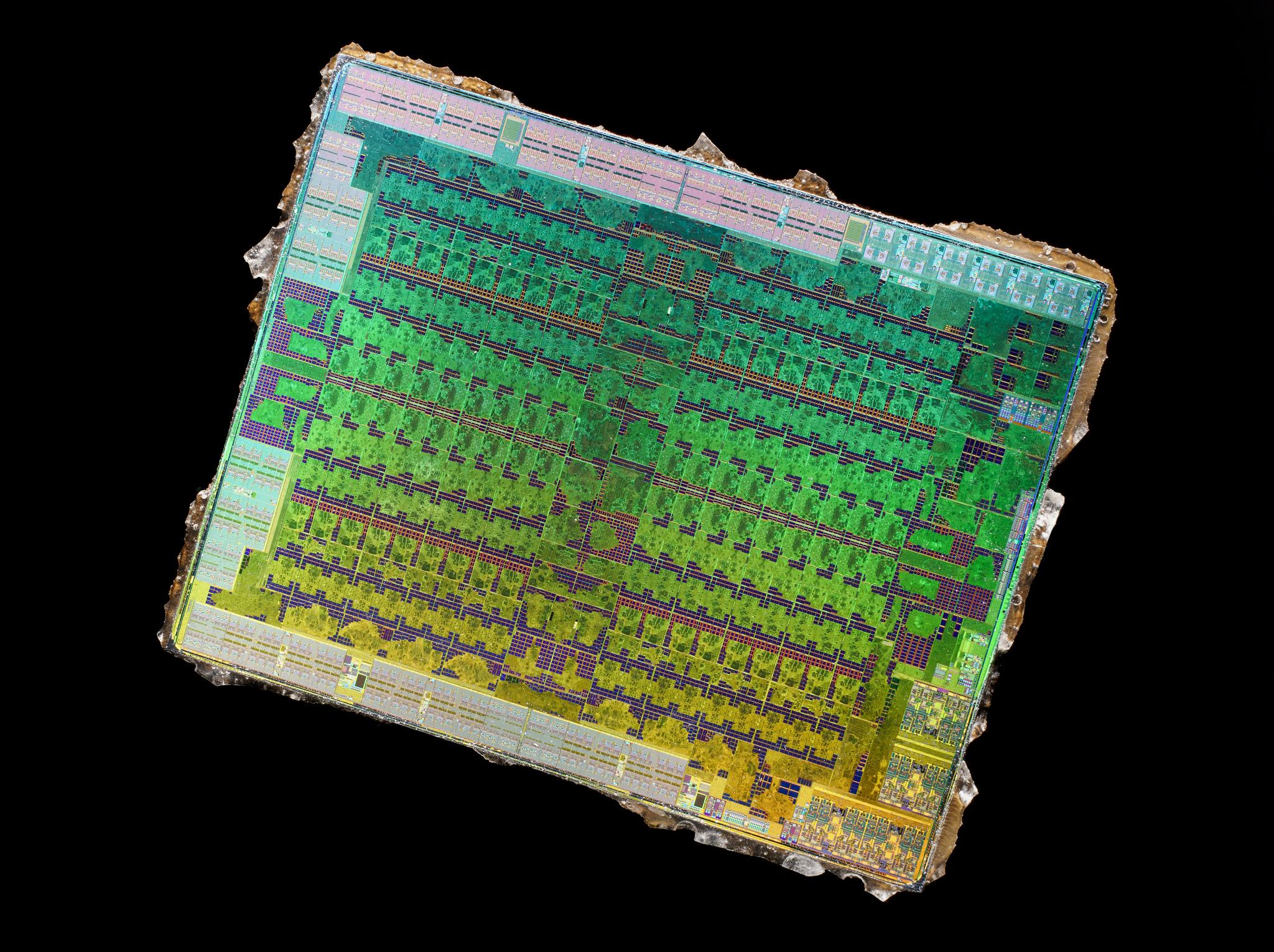 Die AMD Polaris 10 Ellesmere 13 10