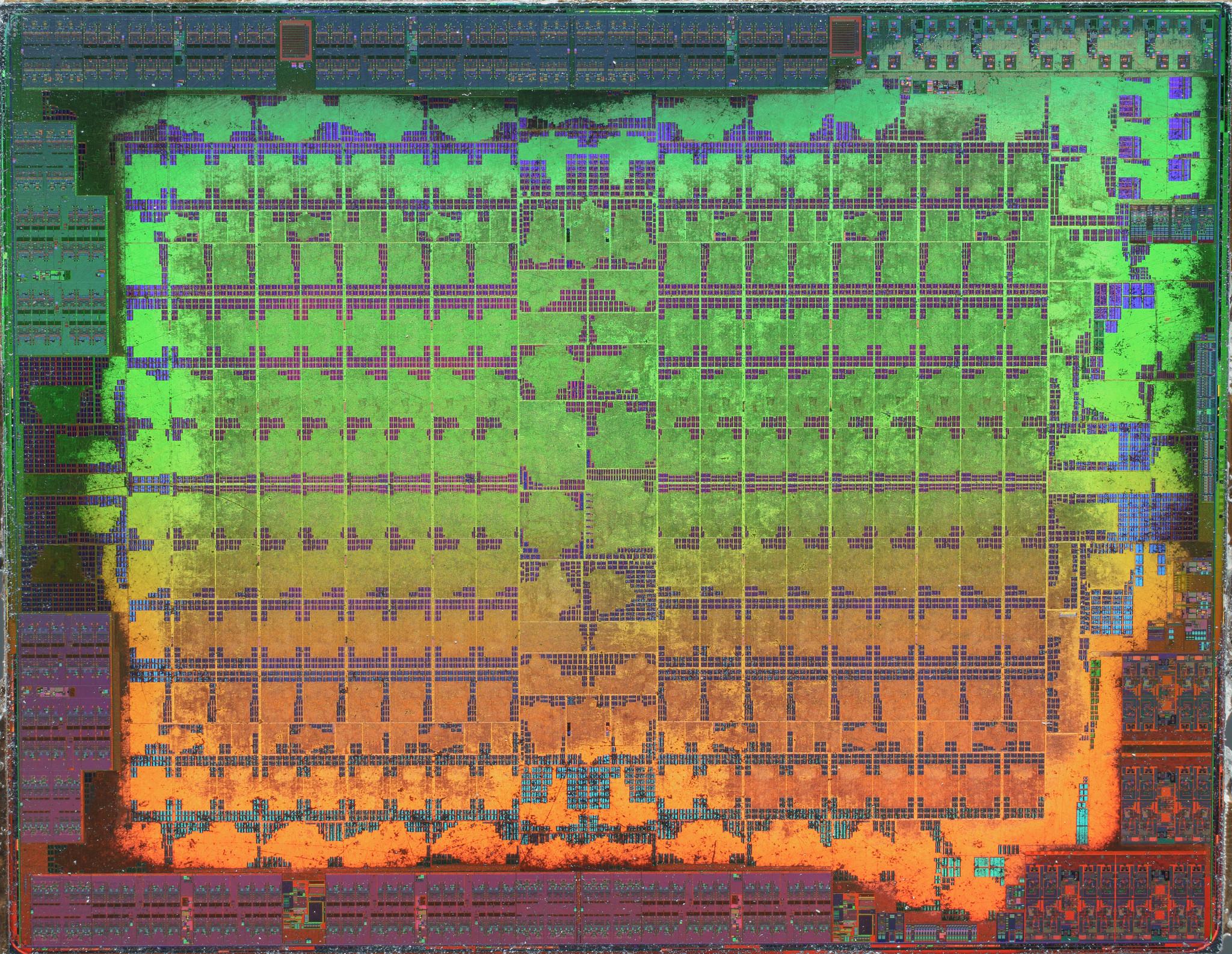 Die AMD Polaris 10 Ellesmere 8 6