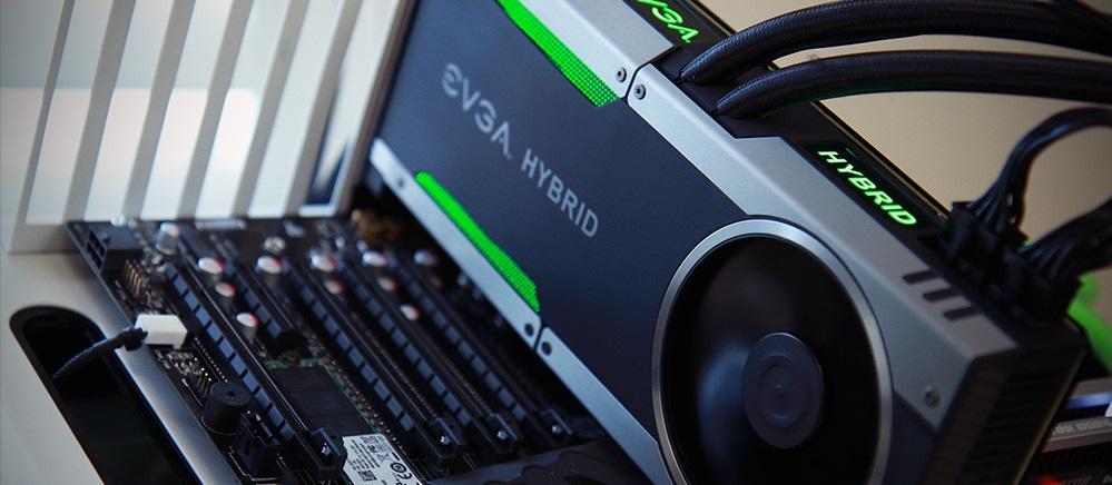 EVGA GeForce GTX 1080 Hybrid - Portada
