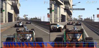 F1 2016 en PlayStation 4 vx Xbox One