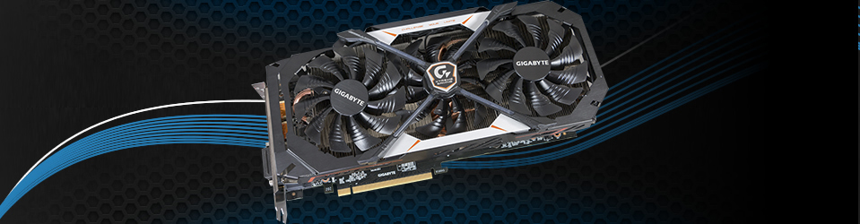 Gigabyte GeForce GTX 1070 Xtreme Gaming Slider