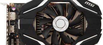 MSI GeForce GTX 1060 3G OCV1 - Portada