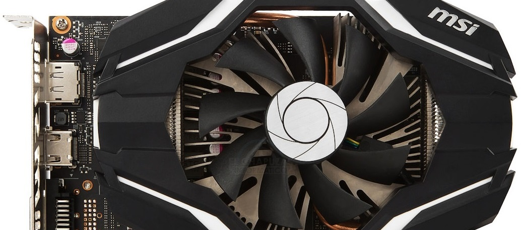 MSI GeForce GTX 1060 3G OCV1 - Portada