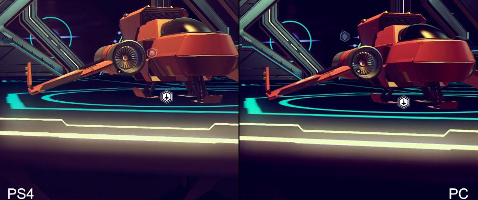 No Man's Sky Playstation 4 vs PC