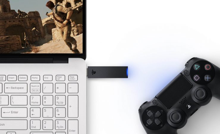 PS Now - DualSock 4 USB Wireless Adapter - PC