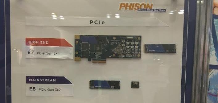 Phison E8: Nueva controladora para SSDs de alto rendimiento