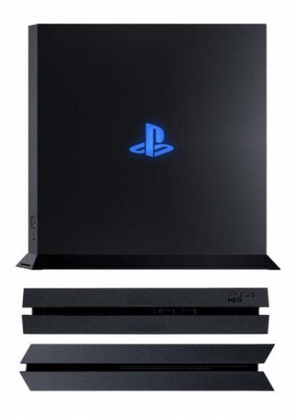PlayStation 4 Neo render