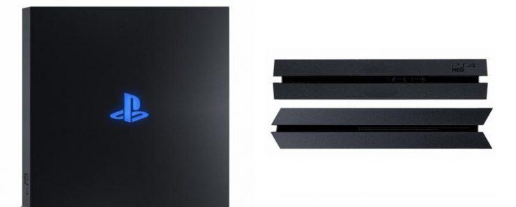 PlayStation 4 Neo render - Portada