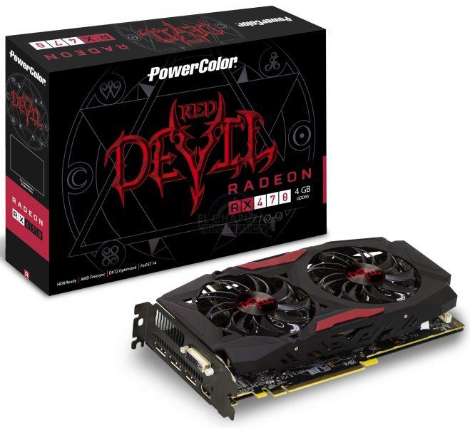 PowerColor RX 470 Red Devil