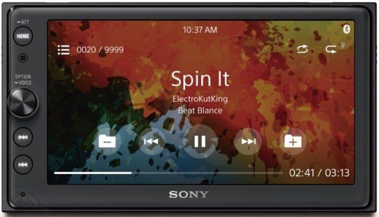 Sony XAV-AX100 (1)