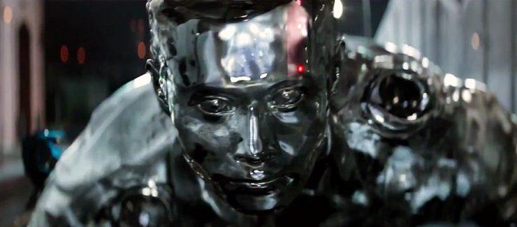 Terminator T-1000 - metal líquido