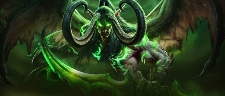 World of Warcraft Legion - Portada