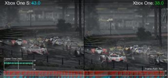 Xbox One S vs Xbox One Project Cars