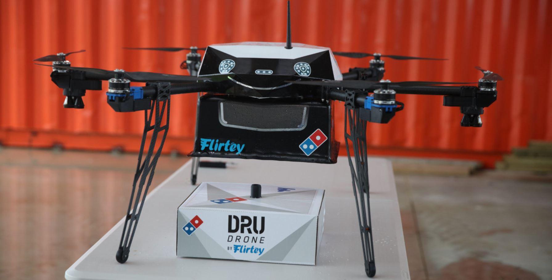 Domino's Pizza empezará a probar drones para hacer repartos