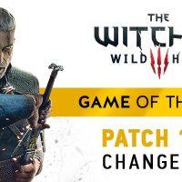 The Witcher 3: Mañana será lanzado el parche 1.30 y la edición GOTY