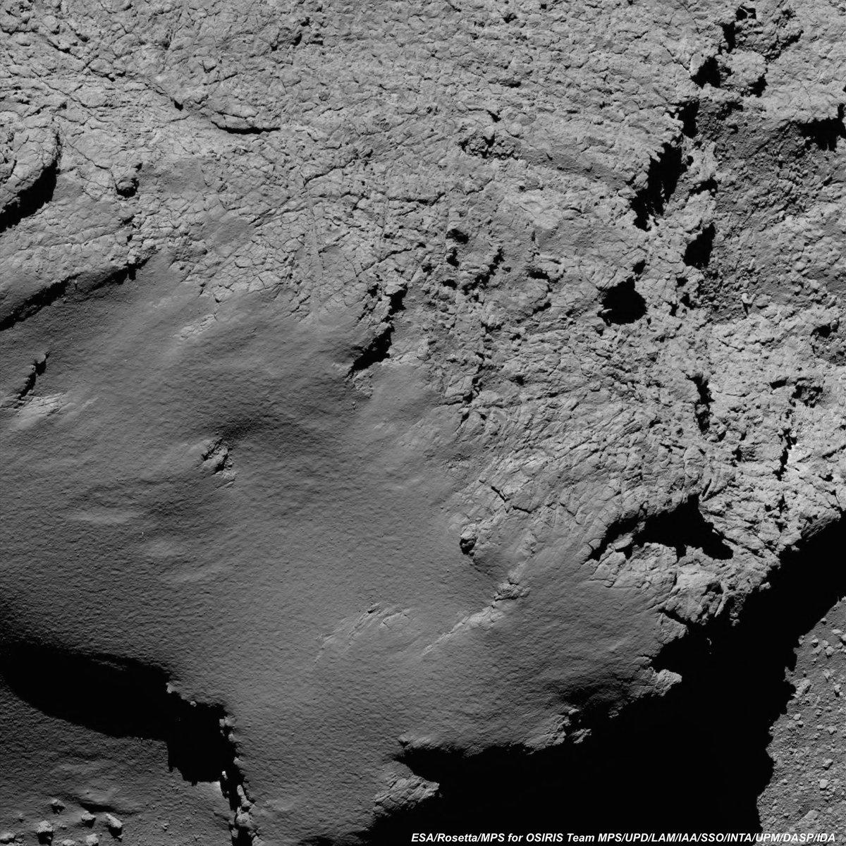 Fotografía del cometa a 8.9 km de altura.