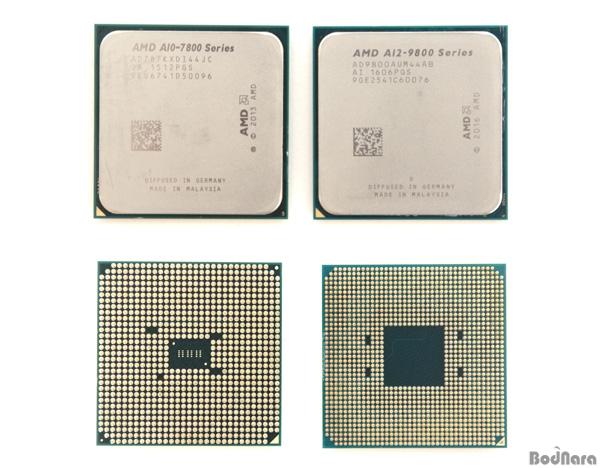 AMD A10-7870K vs AMD A12-9800
