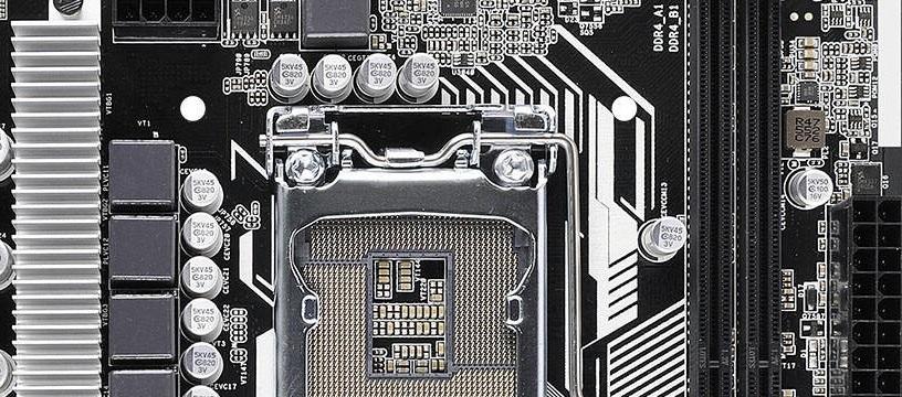 ASRock H110M-DS Hyper - Portada