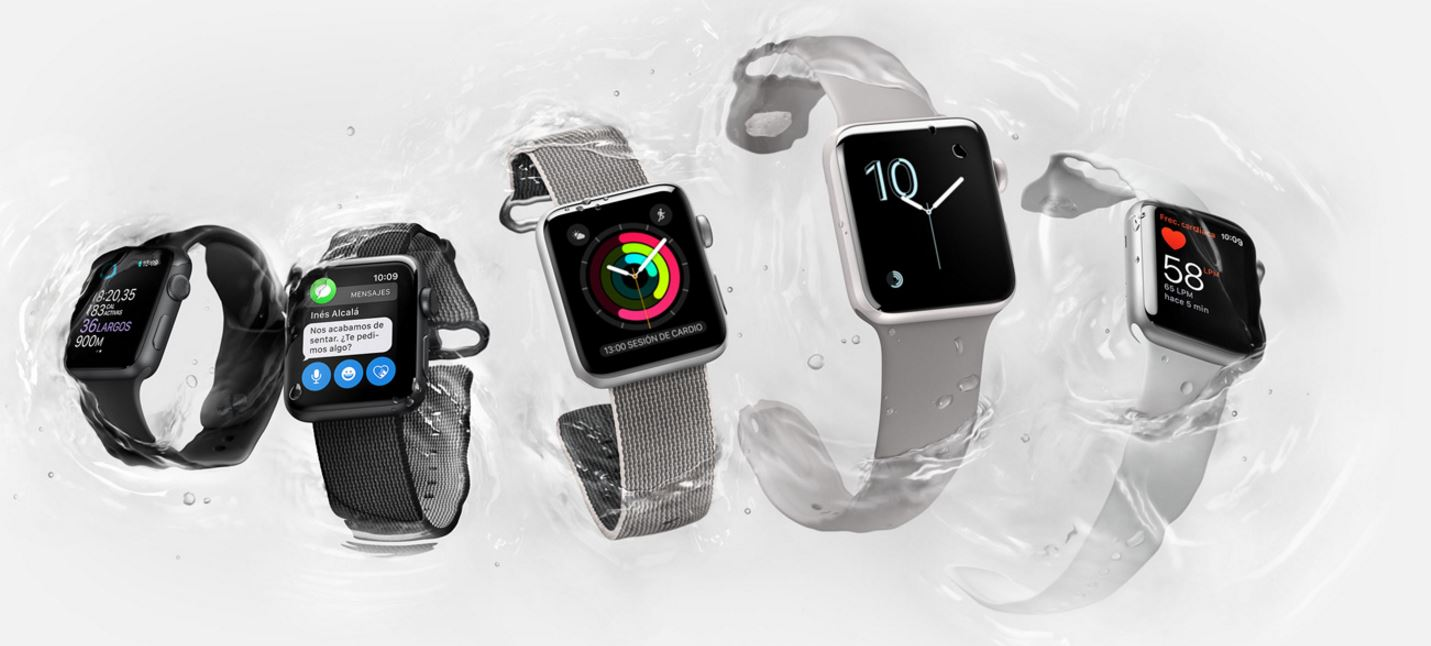 Apple Watch Series 2, los smartwatchs también se actualizan
