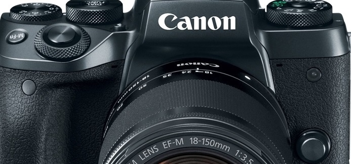 Canon EOS M5: Nueva cámara mirrorless con diseño DSLR