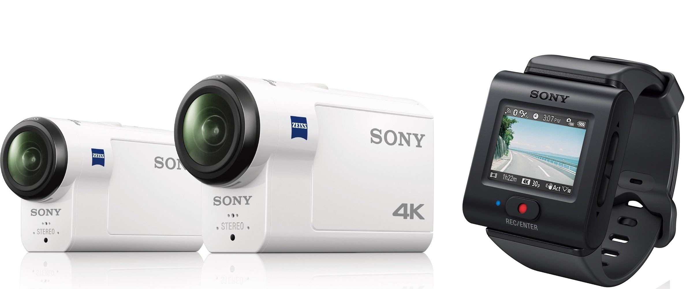 Sony FDR-X3000R y HDR-AS300R, nuevas cámaras deportivas