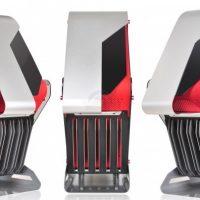 X2 Syrius, llamativo chasis gaming con aluminio y vidrio templado