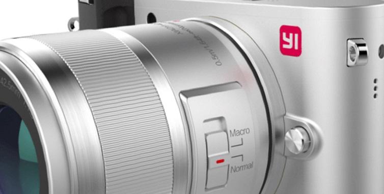 Yi M1 Mirrorless, la primera cámara profesional de Xiaomi