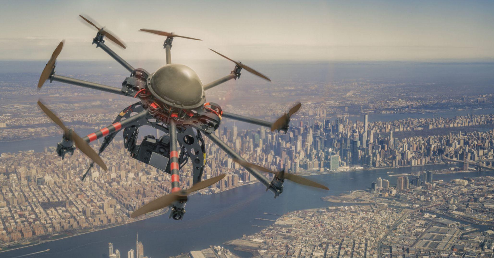 Los bomberos neoyorkinos utilizarán drones para reforzar su seguridad