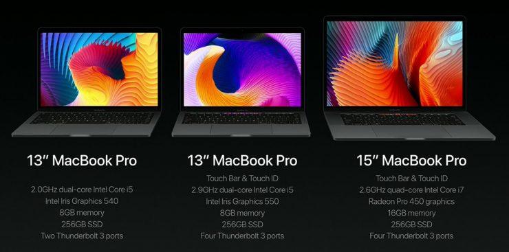MacBook Pro 2016 especificaciones 740x367 0