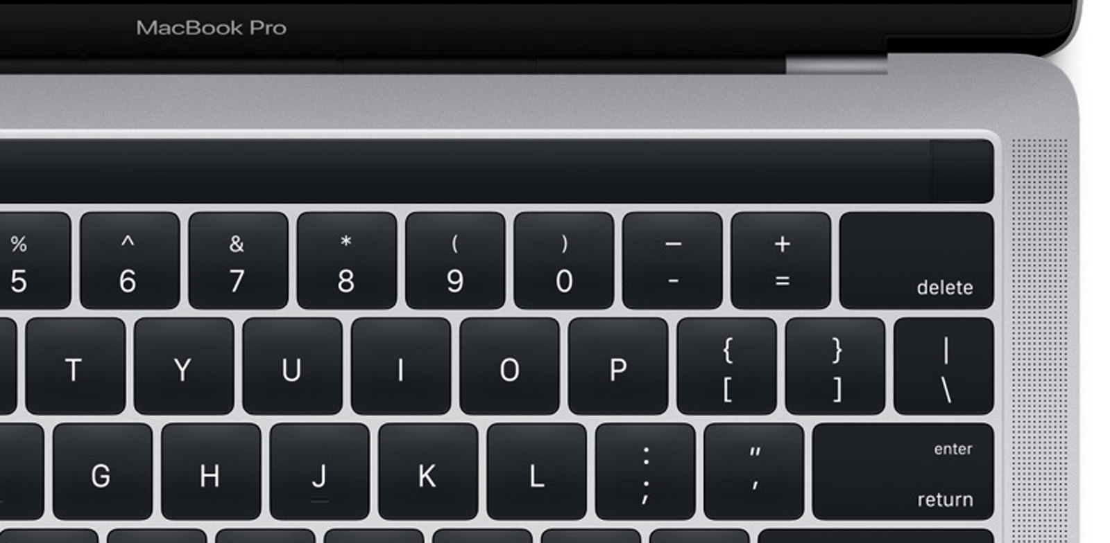 Apple comienza a vender los MacBook Pro con Touch Bar reparados