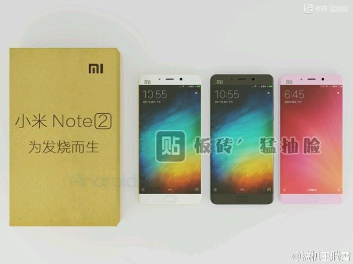 Recent Xiaomi Mi Note 2 leaks 4 2