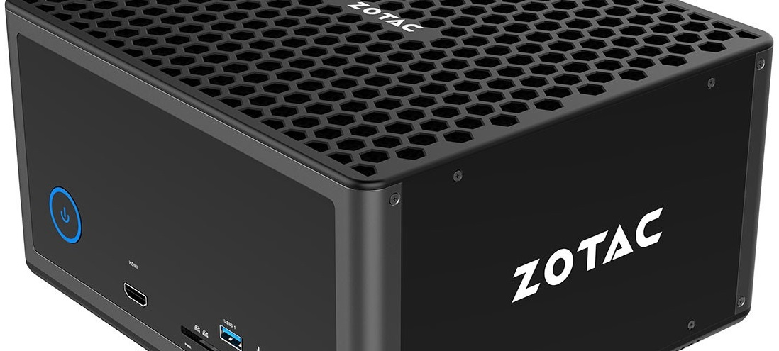 Zotac Magnus EN1080: Mini-PC con Core i7-6700 y una GeForce GTX 1080