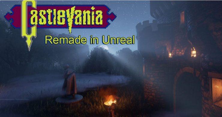 castlevania-version-unreal-engine-4