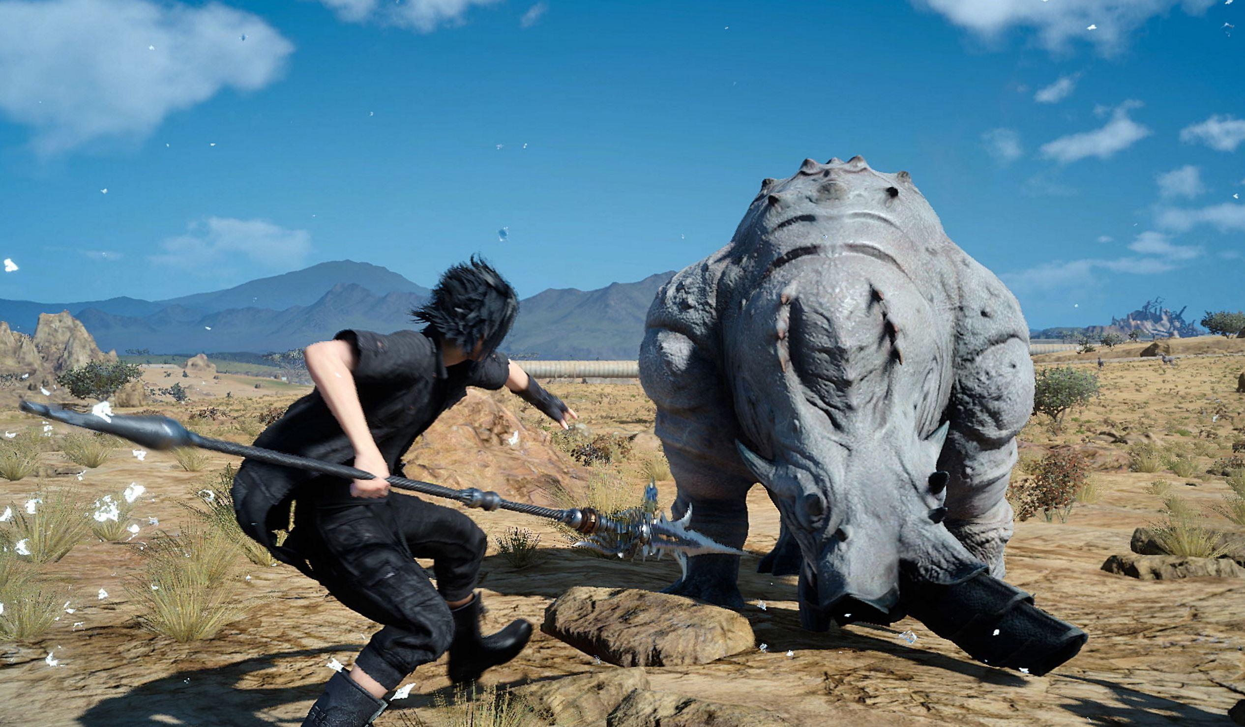 Final Fantasy XV: Podrás escoger 4K30fps o 1080p60fps en la