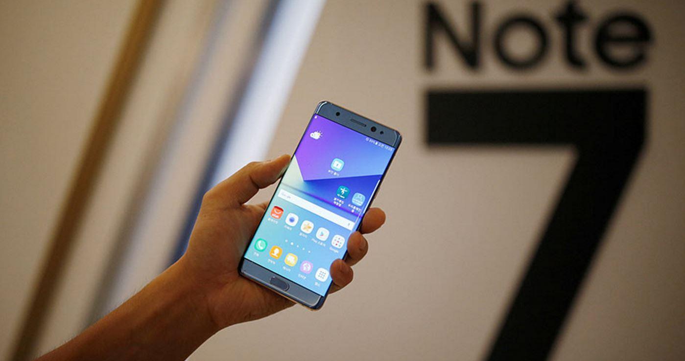Samsung abre quioscos en aeropuertos para sustituir el Galaxy Note7