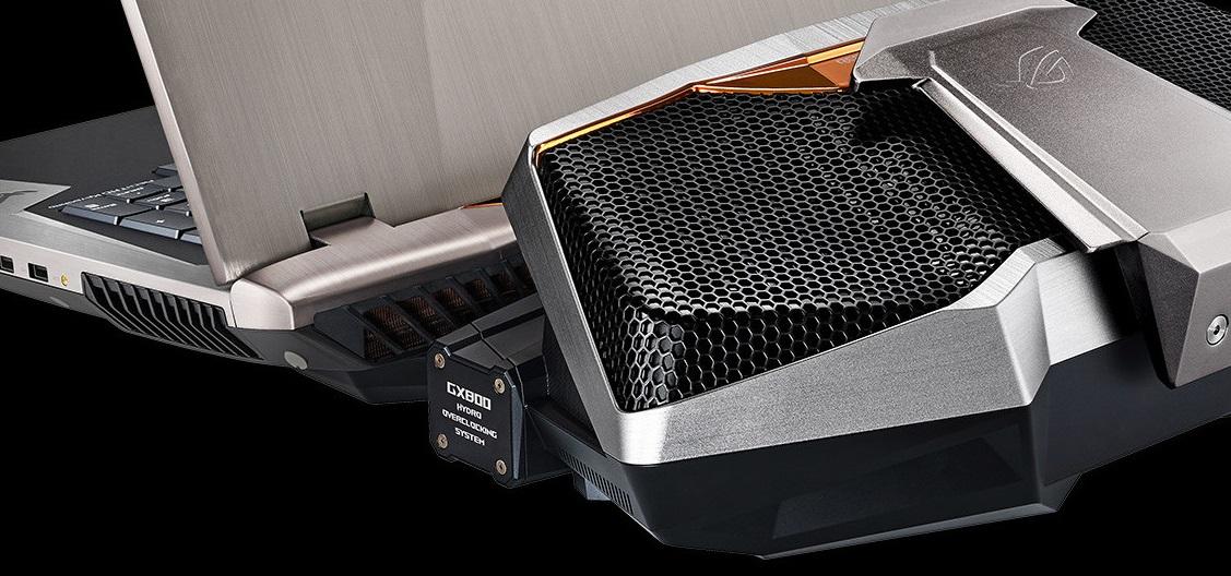 Asus ROG GX800: Portátil gaming con líquida que alcanza los 10.4 kg