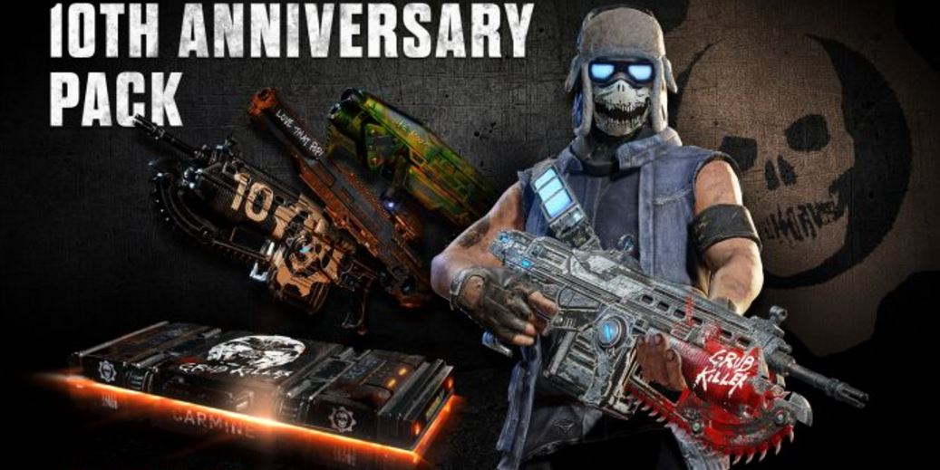 Gears of War celebrará su décimo aniversario con contenidos especiales
