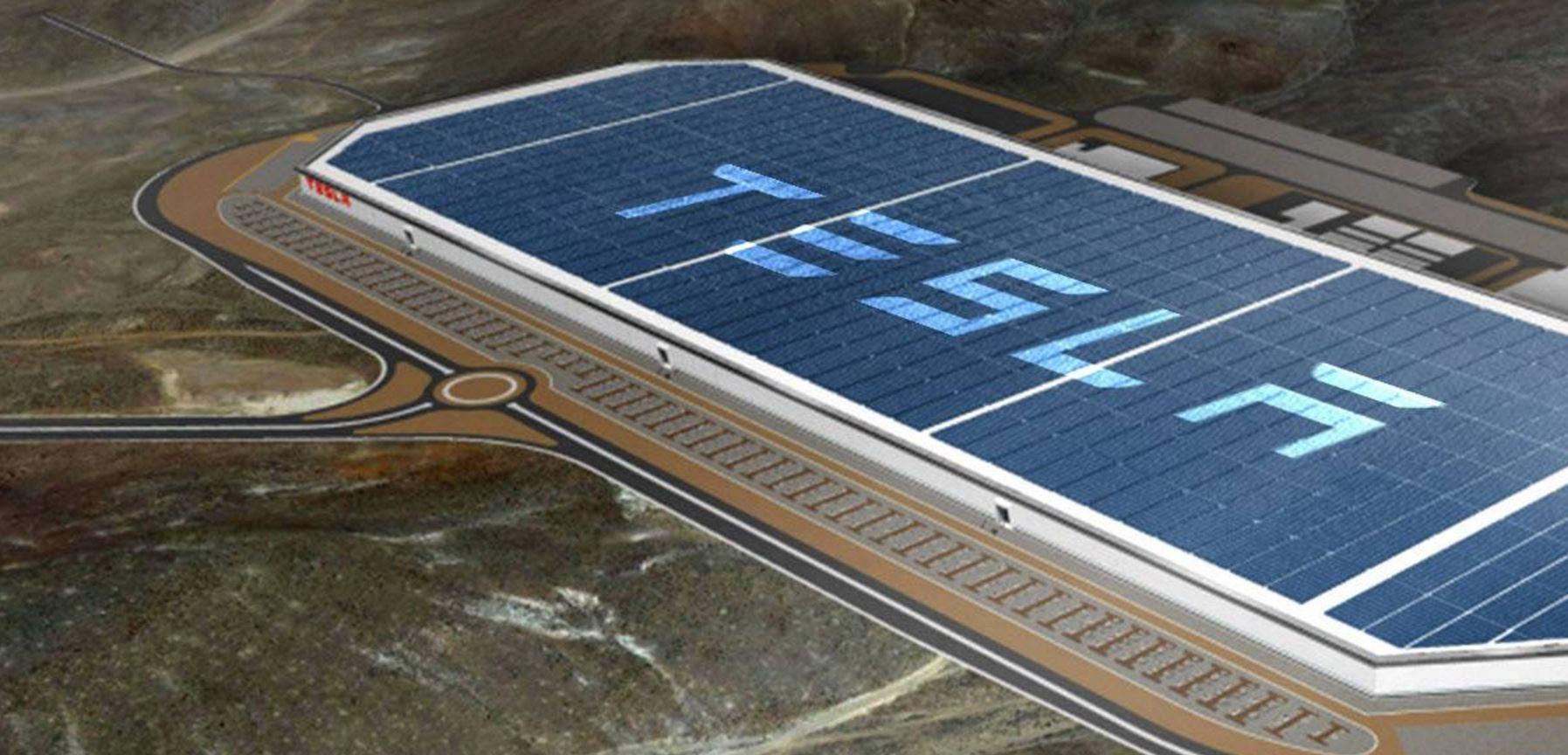 La Gigafábrica de Tesla pronto estará completamente terminada